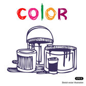 Color banks — Stock Vector