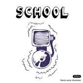 School lesson — Stock Vector