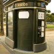 Stock Photo: Public toilets on street