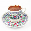Foamy Turkish coffee — Stock Photo #10894727