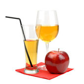Orange juice — Stock fotografie