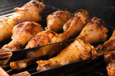 Delicious Barbeque Drumsticks — Stock Photo