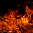 Orange Fire — Stock Photo