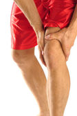 Knee injury — Stock Photo