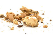 Crumbled cookie — Stock Photo