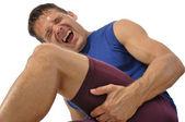 Hamstring injury — Stock Photo