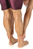 Hamstrings stretch — Stock Photo