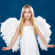 Cute angel - Stock Photo