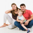 Friendly family — Stock Photo #11023701