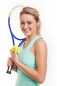 Sportswoman — Foto Stock