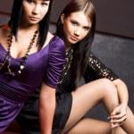 ragazze cool — Foto Stock
