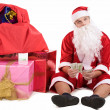 Thoughtful Santa — Stock Photo #11104868