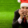 Handsome Santa - Foto Stock