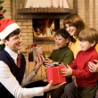 Giving presents — Stock Photo