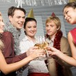 Stock Photo: Celebrating birthday
