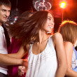 Energetic dance — Stock Photo