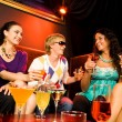 Stock Photo: In nightclub