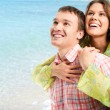 Couple on holiday — Stock Photo