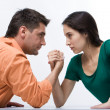 Stock Photo: Confrontation