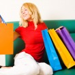 Stock Photo: Shopaholic