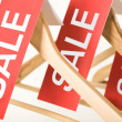 Sale labels - Stock Photo