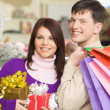 Shopping couple — Stock Photo #11108003