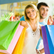 Royalty-Free Stock Photo: Shopping together