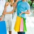 Royalty-Free Stock Photo: During shopping
