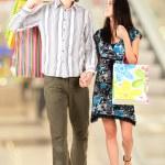 Walking couple — Stock Photo #11108120