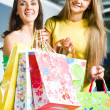 Doing shopping - Foto Stock