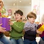 Childish joy — Stock Photo