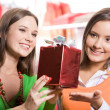 Stock Photo: Choosing presents