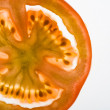 Slice of tomato - Stok fotoraf