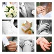 Wedding moments — Stock Photo