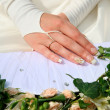 Hands of bride — Stock Photo #11108686