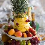Fruit dessert — Stock Photo