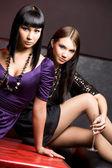 Cool girls — Stock Photo