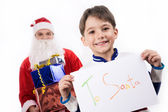 My letter to Santa — Stock Photo