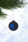 Niebieski piłka — Zdjęcie stockowe