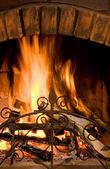 пламя — Стоковое фото