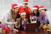 Christmas excitement — Stock Photo
