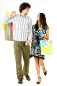 Man and woman — Stock Photo