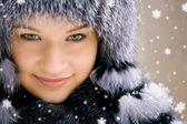 Красота снега — Стоковое фото