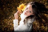 Осенние удовольствие — Стоковое фото