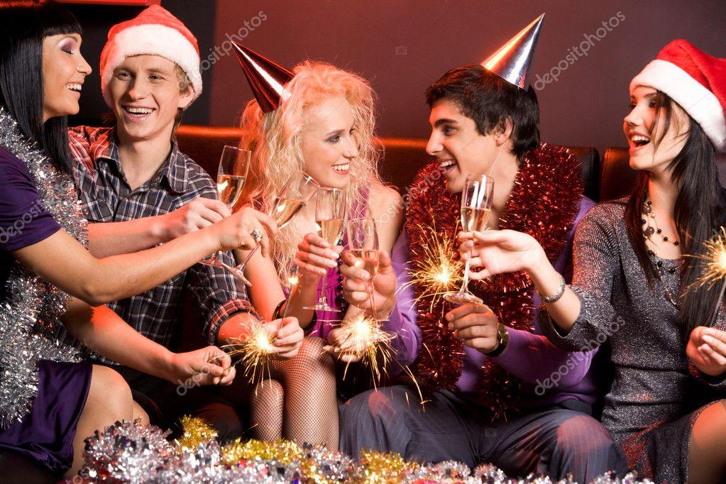 новый год для друзей картинки