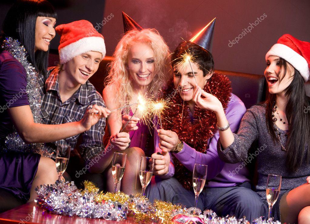 Конкурс на новый год застольный
