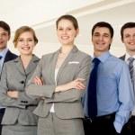 Confident employer — Stock Photo
