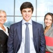 Foto Stock: Successful associates