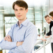 Confident manager — Stock Photo