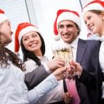 Kerstmis cheers — Stockfoto